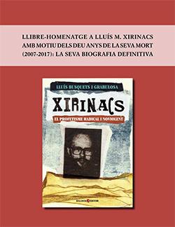 Portada de l'opuscle del llibre Xirinacs