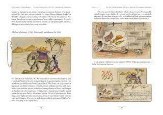 Pàgina amb il·lustracions del llibre Francesc Surroca Puig (1903-1951), combatent per la República